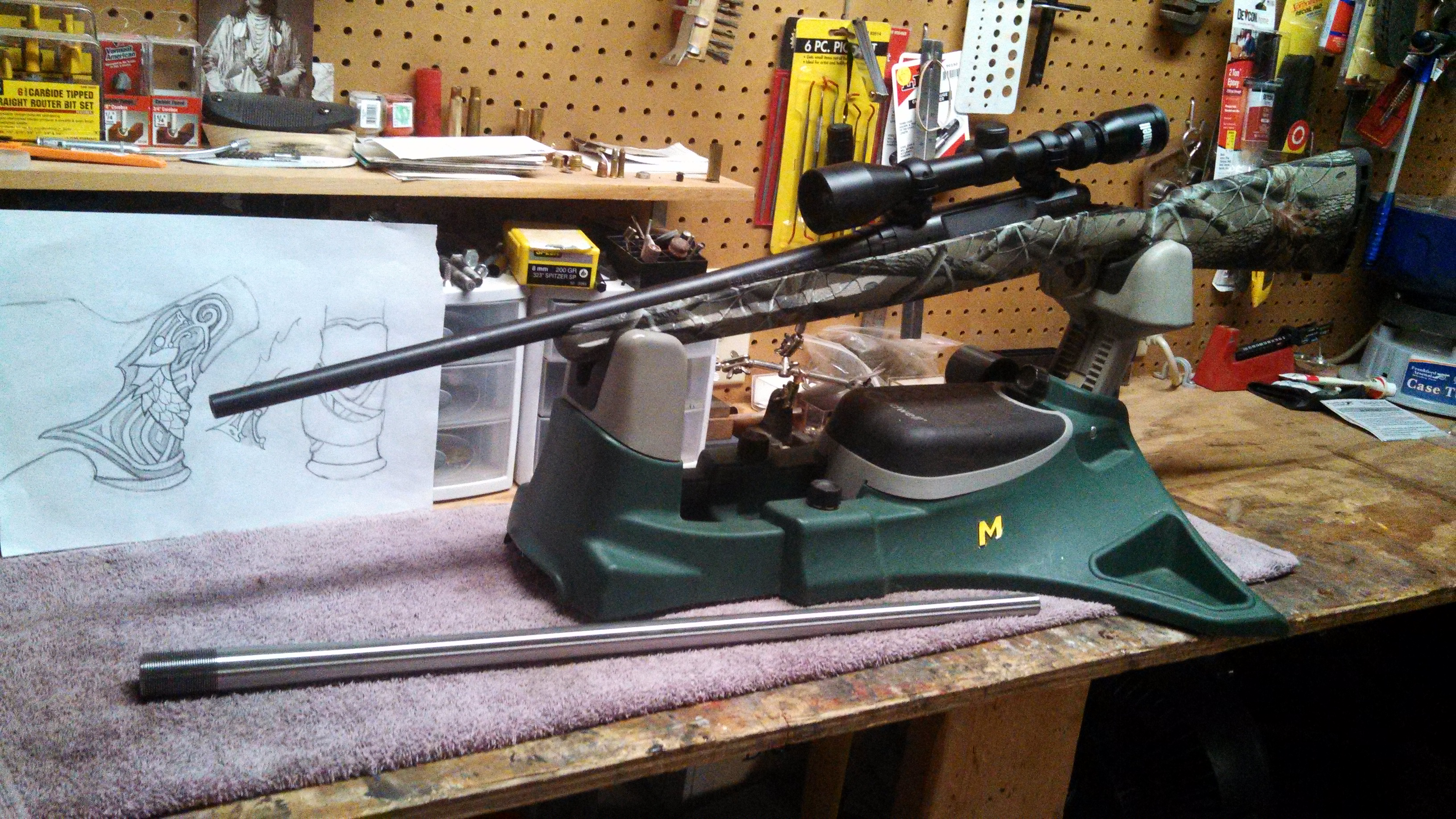 Savage Axis 35 Remington Project - With Range Report & Hunting pic