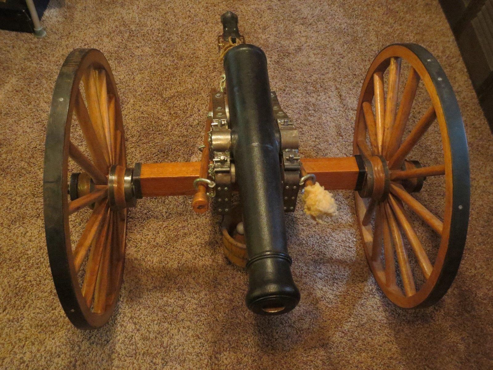 half scale 6 pounder. Black powder Details about  /Cannon