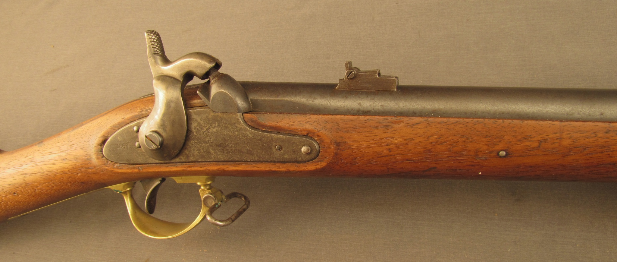 Navy Arms  2 Band Enfield-- turned Zouave Attachment